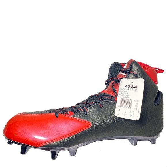 Adidas Crazyquick 2.0 High Top Wide Football Cleat